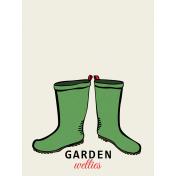 Our House- Garden, Journal Cards- Journal Card 02