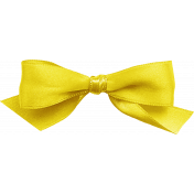 One of a Kind- Yellow Bow