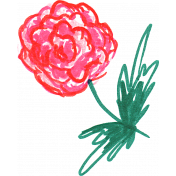 Flower Sketches No.1- Sketch 5