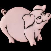 Design Pieces No.3: At The Farm- Pig
