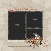 Rustic Charm Album Pages- Page 05 PSD