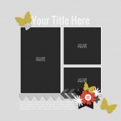 Rustic Charm- Layout Template 05