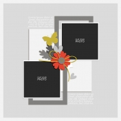 Rustic Charm- Layout Template 04