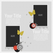 Rustic Charm- Layout Template 02