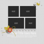 Rustic Charm- Layout Template 08