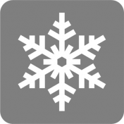 A Little Sparkle Block Snowflake