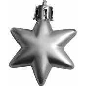 A Little Sparkle Star Ornament