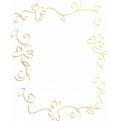 St. Patrick's Day- Gold Doodle 26