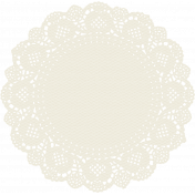 Reflections At Night Kit- Cream Paper Doily