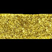 Reflections At Night Kit- Gold Glitter Flat Ribbon