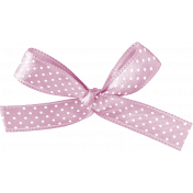 Be Bold Elements- Polka Dot Satin Ribbon Bow