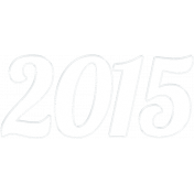 "A Little Sparkle {Elements}- Clear ""2015"" Year Word Art"