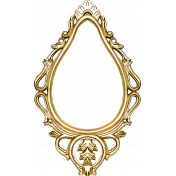 A Little Sparkle {Elements}- Gold Ornate Frame