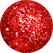 A Little Sparkle {Elements}- Red Glitter Ball