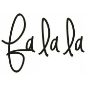 "A Little Sparkle {Elements}- ""Falala"" Word Art"
