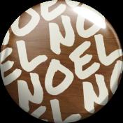 "A Little Sparkle {Elements}- ""Noel"" Wood Brad"