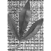 Be Bold Templates- Fabric Leaf