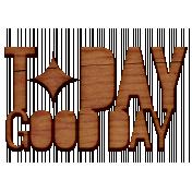 Good Day Word Art- Word Art 9