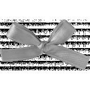 Ribbons No 1- Ribbon 5- Grayscale