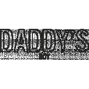 Dear Old Dad- Word Art 03