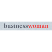 Work Day Word Snippets- Business Woman