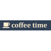 Work Day Word Snippets- Coffee