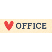 Work Day Word Snippets- Office