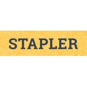 Work Day Word Snippets- Stapler