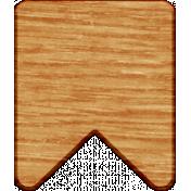 Work Day- Wood Banner