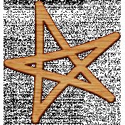 Work Day- Wood Star