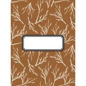 Autumn Day Pocket Cards- Card 05