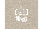 Autumn Day Pocket Cards- Card 17