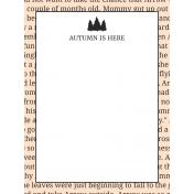 Autumn Day Pocket Cards- Card 19