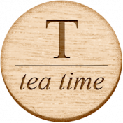 Sugar & Sweet Elements- T Tag Tea Time