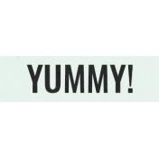 Sugar & Sweet Elements- Word Label Yummy