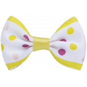 Ribbon- White and Yellow