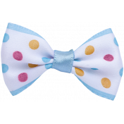 Ribbon- White and Blue