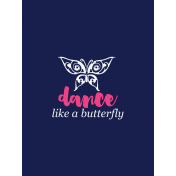 Butterfly Lullaby Card 1
