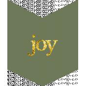 Hello December Joy Tag