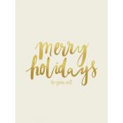 Christmas Day Cards- Card 07