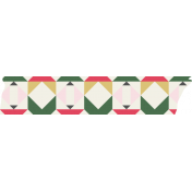 Christmas Day Elements- Washi Tape 2