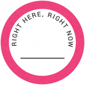 Back To Basics- Right Here, Right Now Label 02