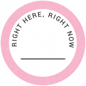 Back To Basics- Right Here, Right Now Label 03