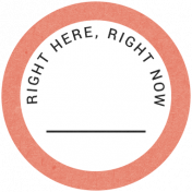Back To Basics- Right Here, Right Now Label 05