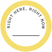 Back To Basics- Right Here, Right Now Label 06