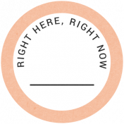 Back To Basics- Right Here, Right Now Label 10