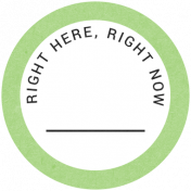 Back To Basics- Right Here, Right Now Label 11