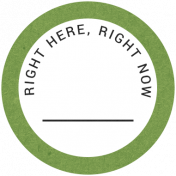 Back To Basics- Right Here, Right Now Label 12