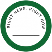 Back To Basics- Right Here, Right Now Label 13