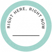 Back To Basics- Right Here, Right Now Label 15